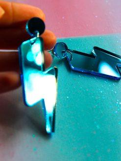 smukke blå lyn plexiglas fra Saisall