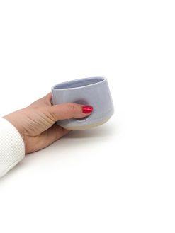 bulet Keramik kop i lilla fra Arf Keramik