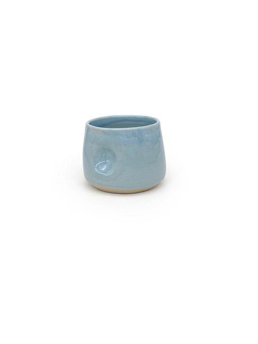bulet Keramik kop i lyseblå fra Arf Keramik