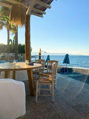 rejseguide til Agia Marina, Kreta, restaurant mitsos