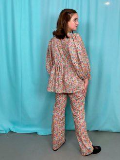 Studio Onyva Liberty Sæt med pufærmer og Anna bukser